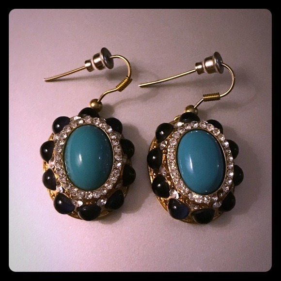 cz with fashion zerconic sakhi e babosa p blue antique stone earring earrings bollywood